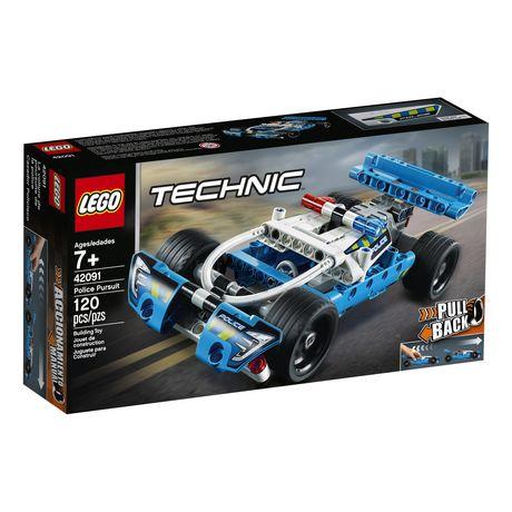 LEGO Technic La voiture de poursuite de la police 42091 - image 2 de 5