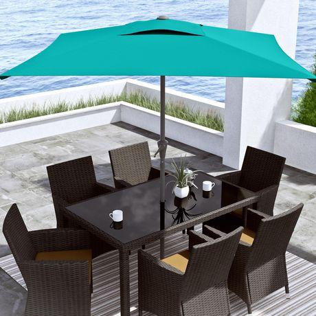 CorLiving 6.5 Ft Square Patio Umbrella - image 1 of 7
