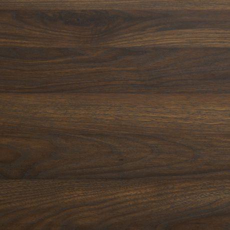 Manor Park Armoire de livres et médias rustique en bois et métal de 160cm (63po) - Noyer foncé - image 7 de 7