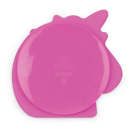 Bumkins Silicone Grip Dish Unicorn - image 2 of 9