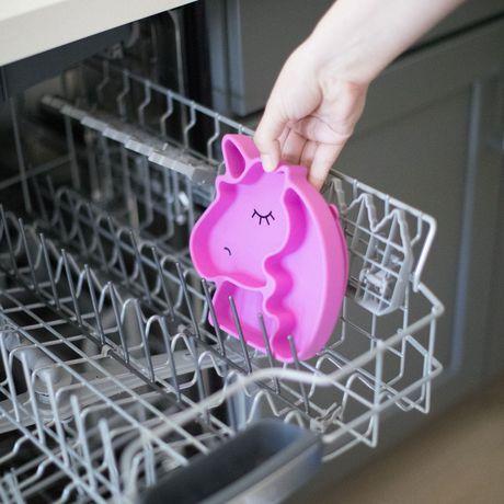 Bumkins Silicone Grip Dish Unicorn - image 6 of 9