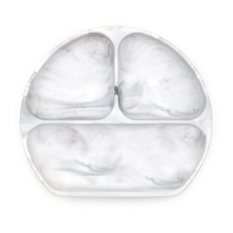 Bumkins Silicone Grip Dish Marble - image 1 of 9