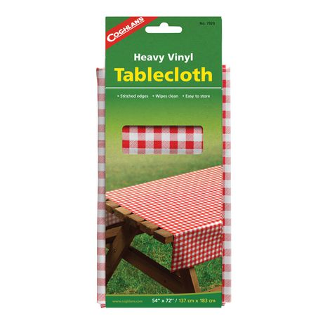 Coghlan's Heavy Vinyl Table Cloth - image 1 of 1