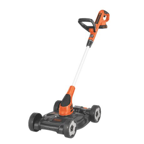 [Walmart.ca]Black & Decker Cordless City Mower 3-in-1 - $84 [Clearance] - Back in stock!