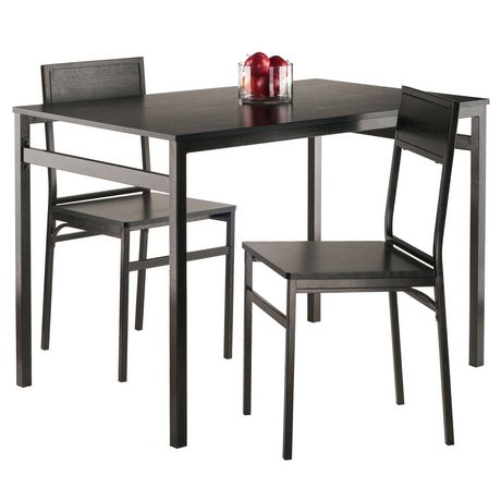 Ens table de salle manger avec chaises milton de winsome de 3 pi ces - Table de jardin walmart argenteuil ...