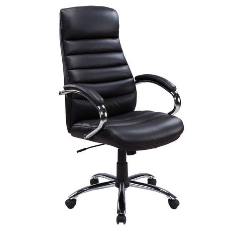 leather office chair. Beautiful Leather TygerClaw Executive High Back Bonded Leather Office Chair  Walmart Canada To C
