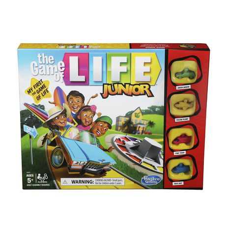 The Game of Life Junior Board Gam - image 1 of 5