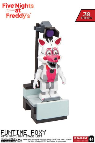 five nights at freddy s funtime foxy with stage left walmart canada