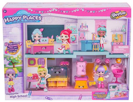 Walmart Shopkins Cutie Cars Series  Drive Thru