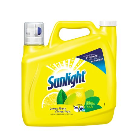 sunlight triple clean lemon fresh laundry detergent walmart canada