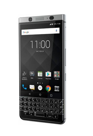 TCL BlackBerry KEYone 4G Lte with 32GB Memory Cell Phone (unlocked) - Silver - image 2 of 6