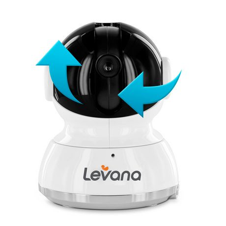 levana willow 5 touchscreen pan tilt zoom video baby monitor walmart canada. Black Bedroom Furniture Sets. Home Design Ideas