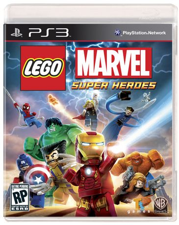 LEGO Marvel Super Heroes PS3 - image 1 of 1
