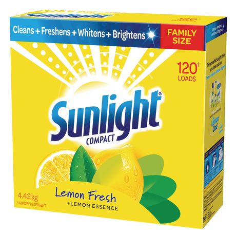 Sunlight Laundry Sunlight Compact Lemon Fresh Laundry