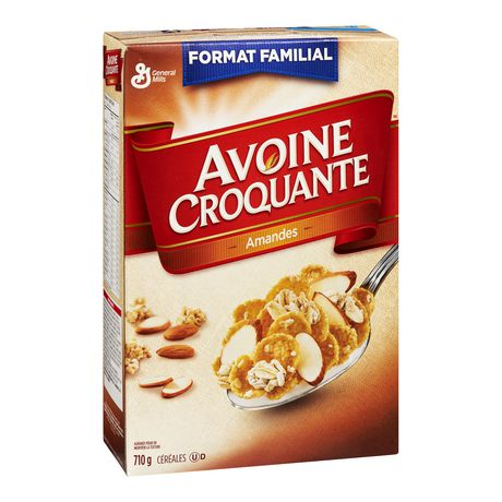 Oatmeal Crisp ™Almond Cereal Family Size - image 2 of 7