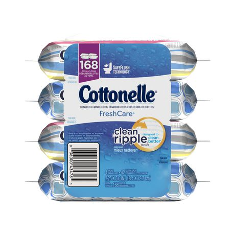 Cottonelle FreshCare Flushable Cleansing Cloths - image 3 of 4