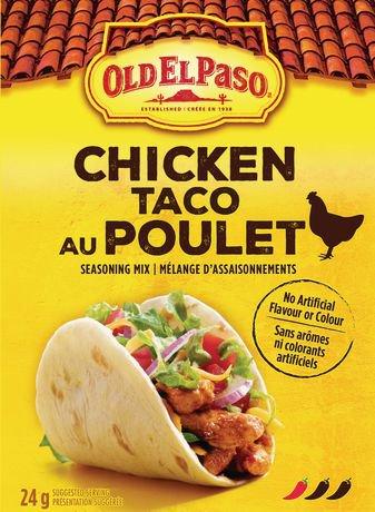 Old el pasomc assaisonnement pour tacos au poulet for Assaisonnement tacos maison