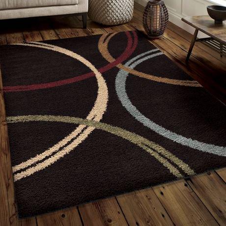 orian rugs woodford black area rug walmart canada. Black Bedroom Furniture Sets. Home Design Ideas