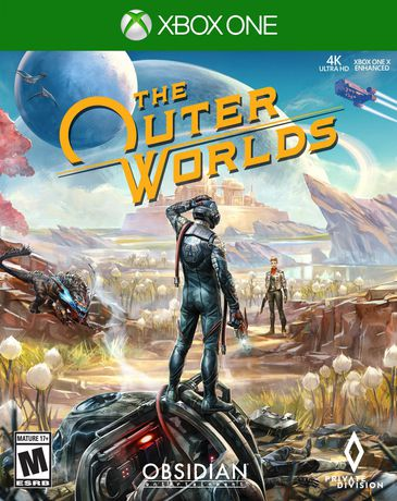 The Outer Worlds video game for Xbox One