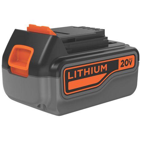 Black & Decker 20V 4.0 Ah Lithium Battery - image 1 of 1