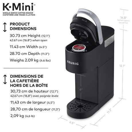 Keurig K Mini Single Serve Coffee Maker Walmart Canada