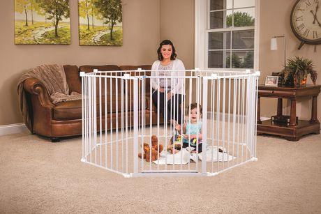Regalo 192 Quot Wide Configurable Baby Safety Gate Walmart