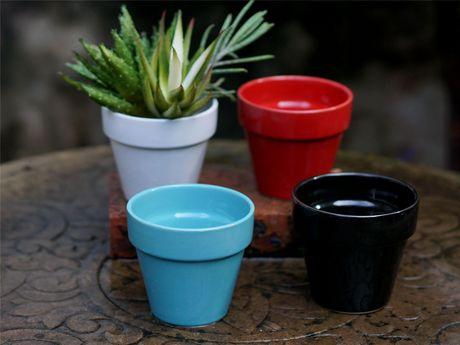 Pot classique en céramique de 10,2 cm - image 2 de 2