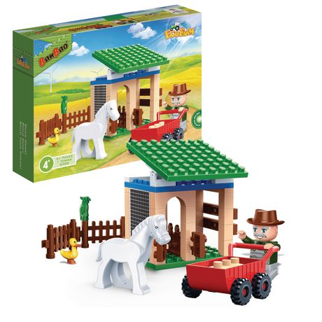 BanBao Building Blocks - Small Barn - image 1 of 1
