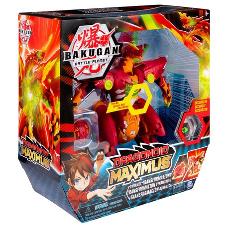 Bakugan, Dragonoid Maximus 8-Inch Transforming Figure with Lights and Sounds, for Ages 6 and Up - image 8 of 8
