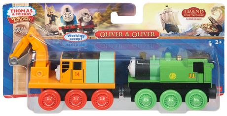 Fisher Price Thomas Amp Friends Wooden Railway Oliver