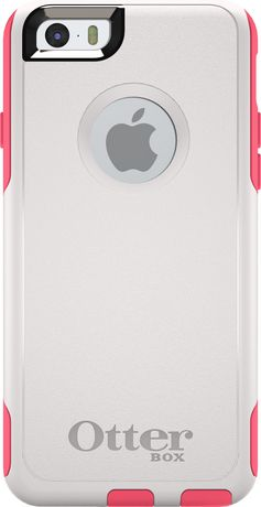 new styles a7e9b 841d5 Otterbox Commuter Series Case for iPhone 6 - White/Blaze Pink ...