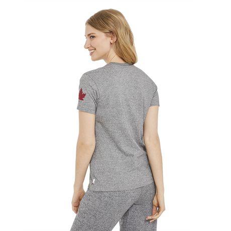 T-shirt à encolure ronde Canadiana pour femmes - image 3 de 6