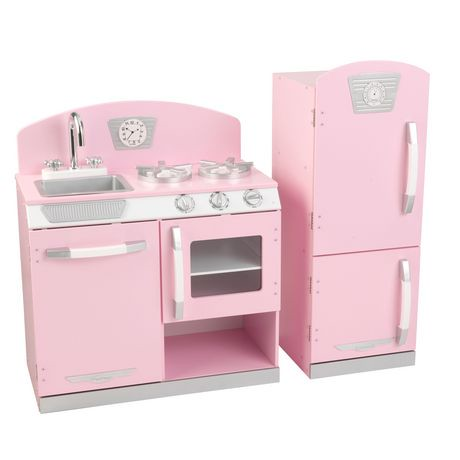 Image Result For Kidkraft Vintage Kitchen Pink