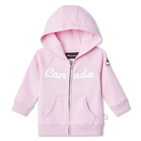 Canadiana Baby Girls' Hoodie - image 1 of 2