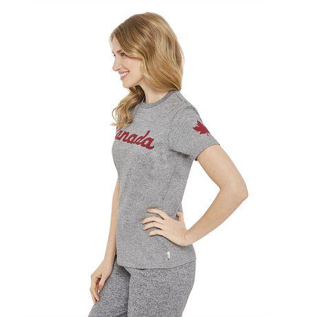 T-shirt à encolure ronde Canadiana pour femmes - image 2 de 6