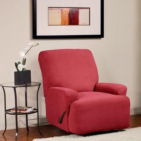 Housse extensible pour fauteuil inclinable diamond de - Housse de fauteuil extensible ...