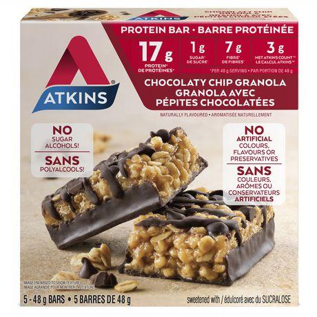 ATKINS Chocolaty Chip Granola Protein bar - image 1 of 2