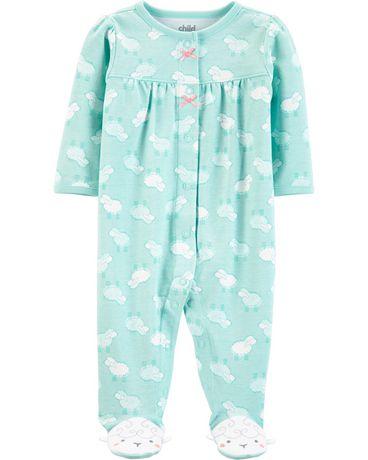 Tenue avec pyjama-grenouillère pour nouveau-né fille Child of Mine made by Carter's – mouton - image 1 de 1