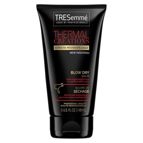 TRESemmé Thermal Creations Blow Dry Balm, with heat
