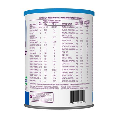 Parent's Choice Iron Fortified Milk Based Infant Formula - image 2 of 2