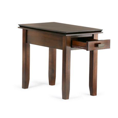 stratford narrow side table walmart canada. Black Bedroom Furniture Sets. Home Design Ideas