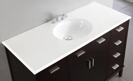 oxford meuble lavabo 48 po avec dessus en marbre walmart canada. Black Bedroom Furniture Sets. Home Design Ideas