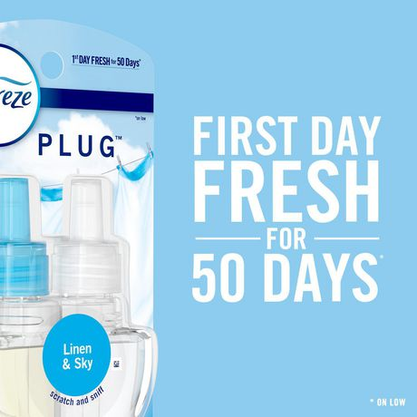 Febreze PLUG Air Freshener Refills Mediterranean Lavender ...
