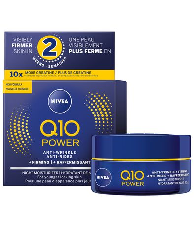 Nivia Q10 POWER Anti-Wrinkle + Firming Night Moisturizer 50mL
