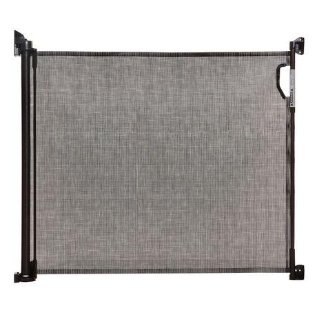 Dreambaby 174 Indoor Outdoor Retractable Gate Black