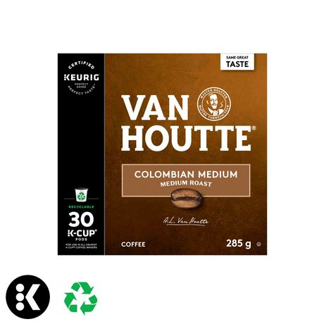 Keurig® Van Houtte® Colombian Medium Roast  Recyclable K-Cup® PODS - image 1 of 4