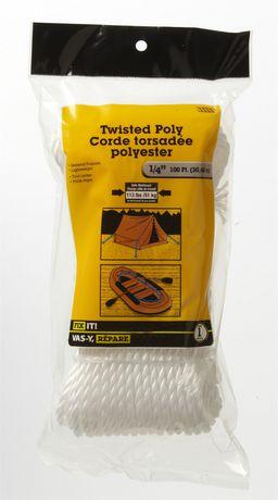 Corde torsadée poly100 pi 1 pièce - image 1 de 2