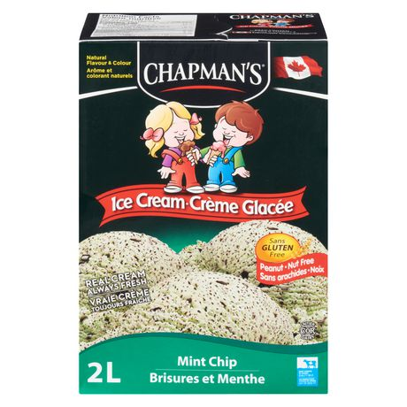 Chapman's Original Mint Chip Ice Cream - image 2 of 2