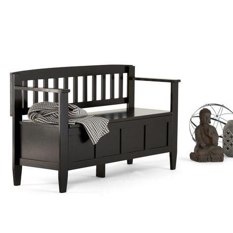riverside banc de rangement pour l 39 entr e walmart canada. Black Bedroom Furniture Sets. Home Design Ideas