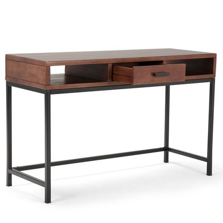 Colbert table console pour salon for Table exterieur walmart